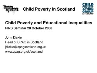 Child Poverty in Scotland