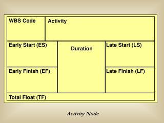 Activity Node
