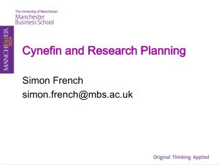 Cynefin and Research Planning