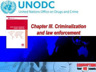 Chapter III. Criminalization and law enforcement