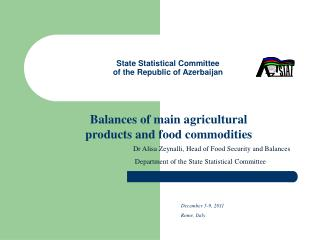 State Statistical Committee of the Republic of Azerbaijan