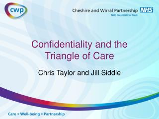 Confidentiality and the Triangle of Care