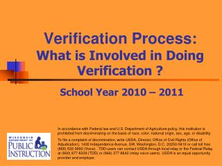 Verification Process: What is Involved in Doing Verification ?