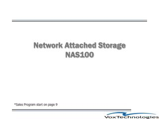 Network Attached Storage NAS100