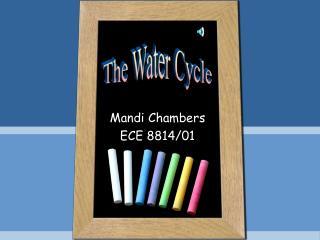 Mandi Chambers ECE 8814/01
