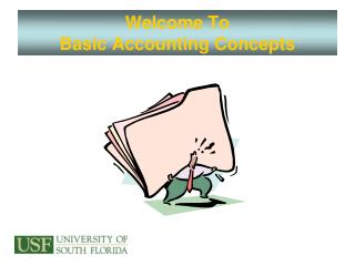 Welcome To  Basic Accounting Concepts