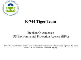 R-744 Tiger Team