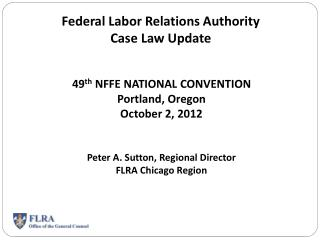 Federal Labor Relations Authority  Case Law Update