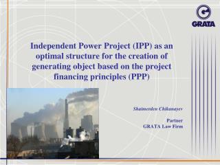 Shaimerden Chikanayev Partner GRATA Law Firm