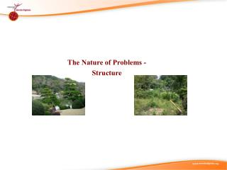 The Nature of Problems -  Structure