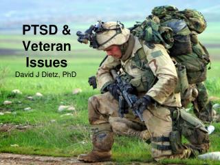 PTSD & Veteran Issues