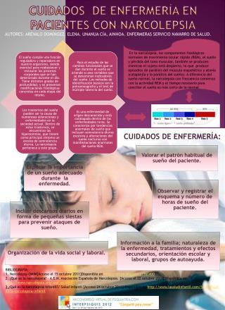CUIDADOS  DE ENFERMERÍA EN PACIENTES CON NARCOLEPSIA