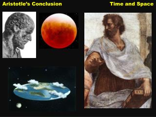 Aristotle's Conclusion                             Time and Space