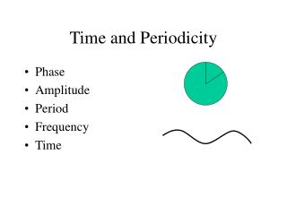 Time and Periodicity