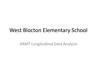 West  Blocton  Elementary School