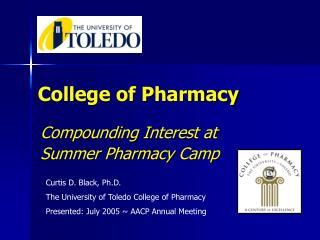 College of Pharmacy