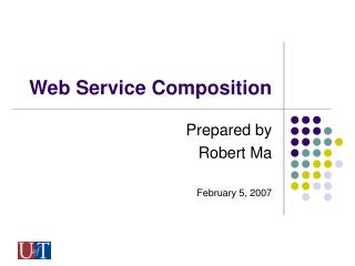 Web Service Composition