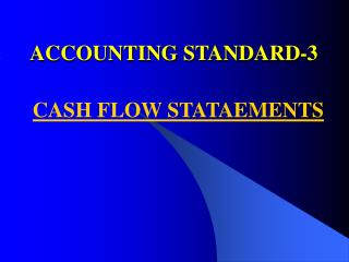 ACCOUNTING STANDARD-3