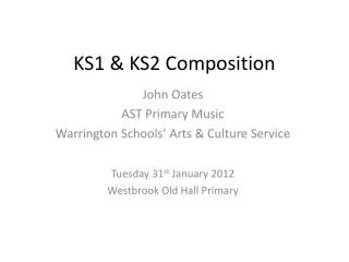 KS1 & KS2 Composition