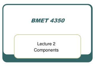 BMET 4350