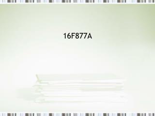 16F877A