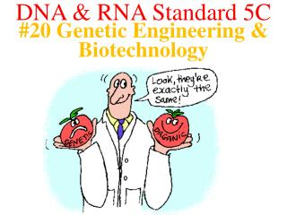 #20 Genetic Engineering & Biotechnology
