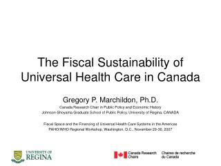 The Fiscal Sustainability of Universal Health Care in Canada