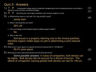 Quiz 3 - Answers