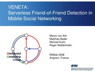 VENETA:  Serverless Friend-of-Friend Detection in Mobile Social Networking