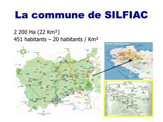 La commune de SILFIAC