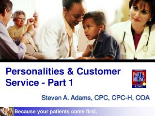 Personalities & Customer Service - Part 1