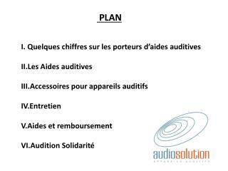 I. Quelques chiffres sur les porteurs  d'aides auditives