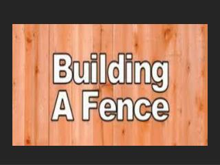 """Don't ever take a fence down until you know why it was put up."" -Robert Frost"