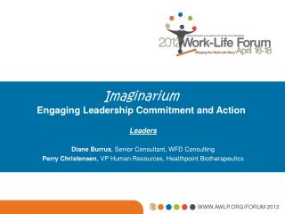 Imaginarium Engaging Leadership Commitment and Action
