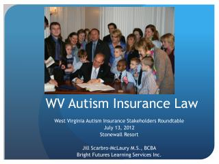 WV Autism Insurance Law