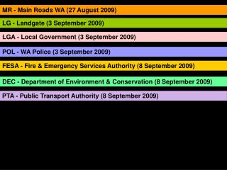 MR - Main Roads WA (27 August 2009)