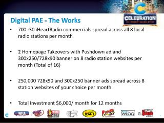Digital PAE - The Works