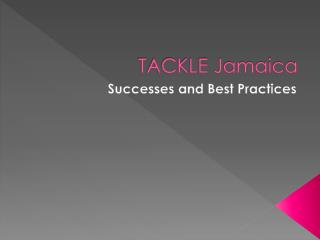 TACKLE Jamaica