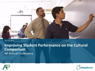 Improving Student Performance on the Cultural Comparison