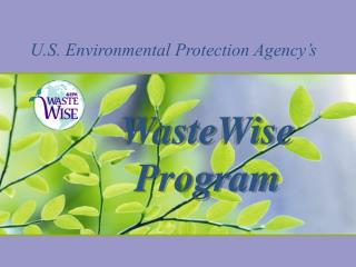 U.S. Environmental Protection Agency's