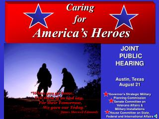 Caring  for  America's Heroes