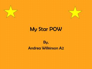 My Star POW