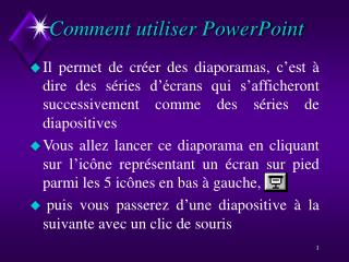Comment utiliser PowerPoint