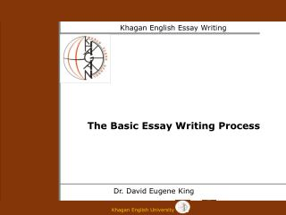 The Basic Essay Writing Process