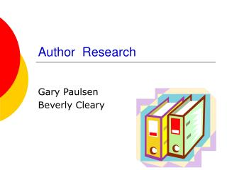 Author  Research