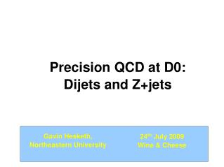 Precision QCD at D0: Dijets and Z+jets