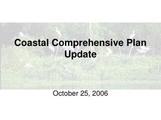 Coastal Comprehensive Plan Update