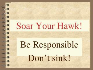 Soar Your Hawk!