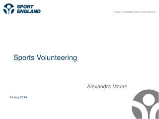 Sports Volunteering