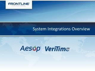 System Integrations Overview